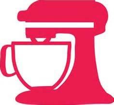 Kitchen Mixer Silhouette Clip Art, KitchenAid Mixer Original.