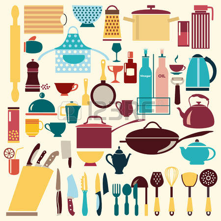 52,713 Kitchenware Stock Vector Illustration And Royalty Free.