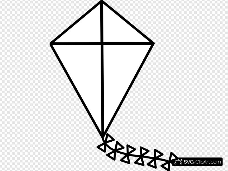 Kite Clip art, Icon and SVG.