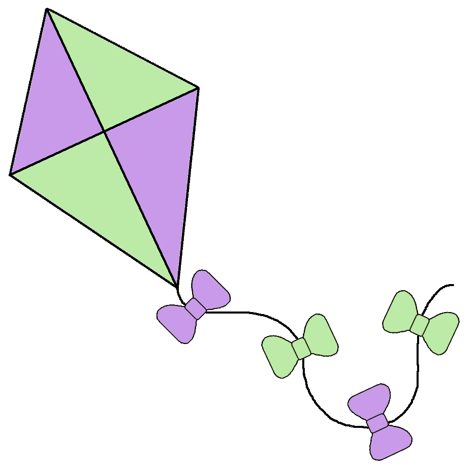 kite clipart Kite clip art #12.