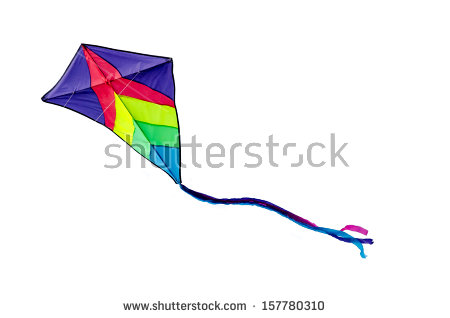 Kite Flying Stock Images, Royalty.