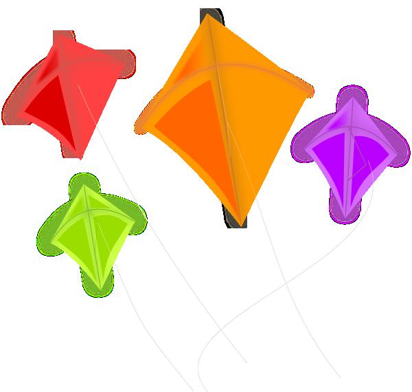 Kites Clip Art at Clker.com.