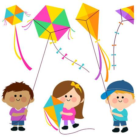 3,513 Kite Flying Stock Vector Illustration And Royalty Free Kite.
