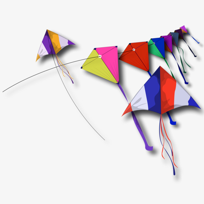 Kite Flying, Product Kind, Colored Kite, #177108.