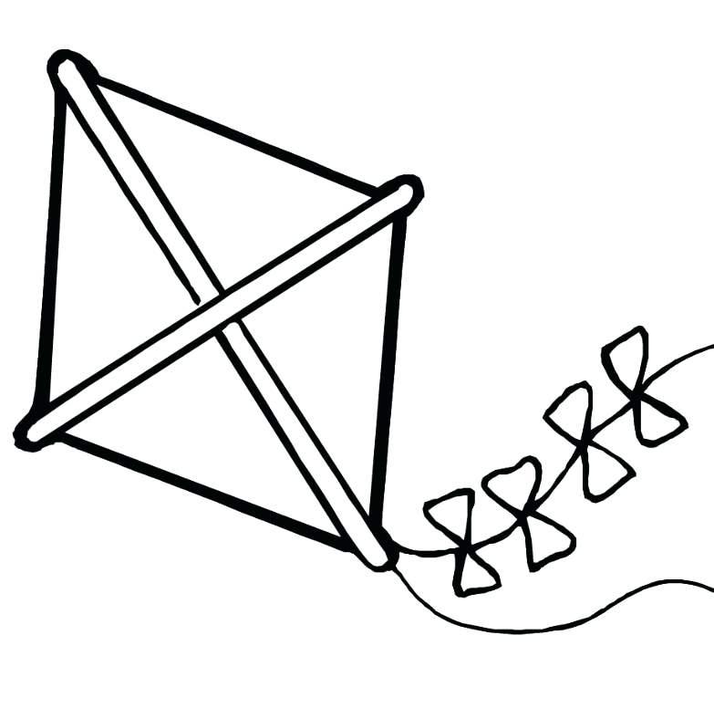 Kite Clipart 5 Kite Black And White Kite Clipart Shape.