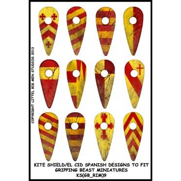 Buy Kite Shield / El Cid Spanish Designs (Gripping Beast).