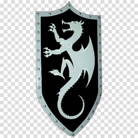 Kite shield Dungeons & Dragons Knight, shield transparent.