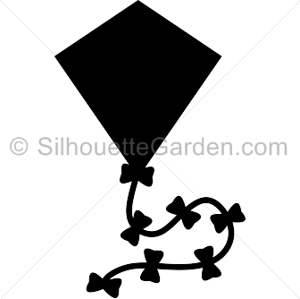 Kite silhouette clip art. Download free versions of the image in.