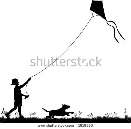 Flying Kite Stock Vectors, Images & Vector Art.
