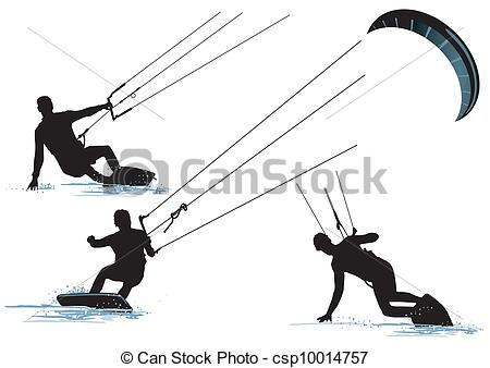 Kite surfing Illustrations and Clipart. 336 Kite surfing royalty.