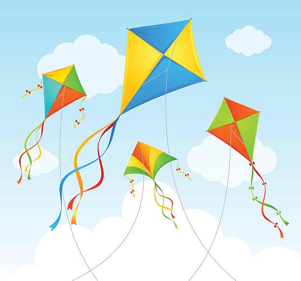 Best Kites Illustrations, Royalty.