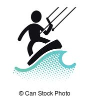 Kitesurf Illustrations and Clipart. 129 Kitesurf royalty free.