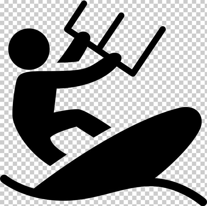 Computer Icons Kitesurfing Font PNG, Clipart, Artwork, Black And.