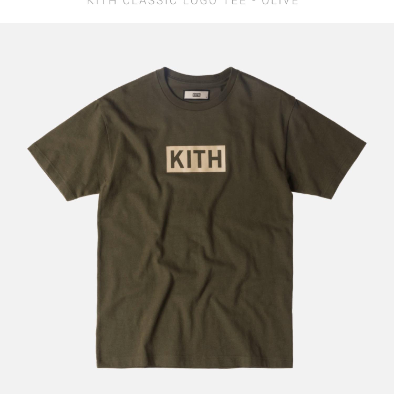 Kith Box Logo Tee.