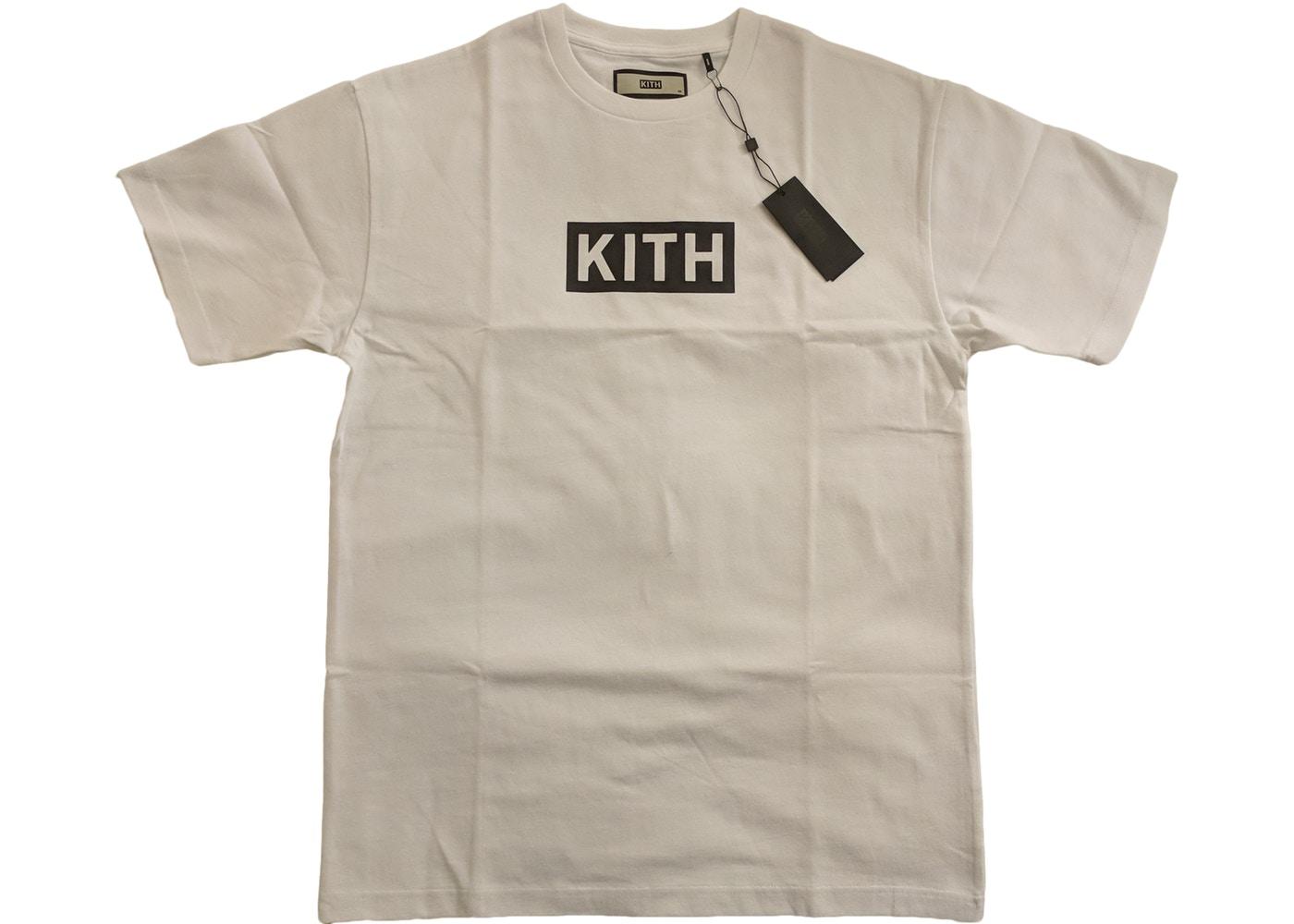 Kith Classic Logo Tee White/Black.