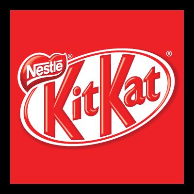 Kit Kat logo vector.