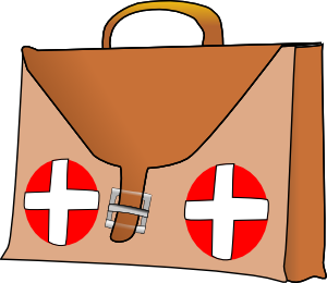 Disaster Relief Kits Clip Art.