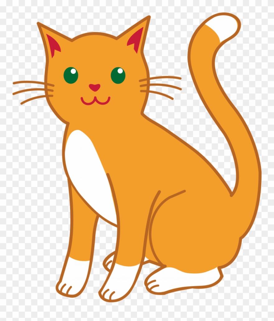 Cat Clip Art Clipart Cat Kitten Clip Art.
