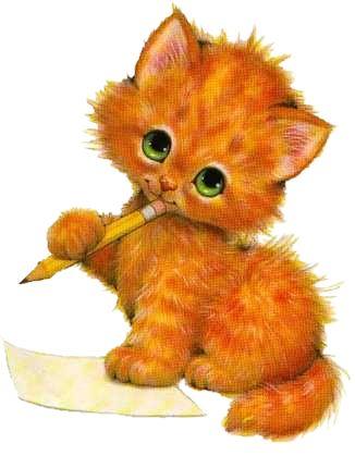 Cat clip art kitten clip art.