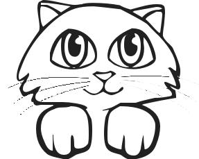 Kitten Clip Art Free.