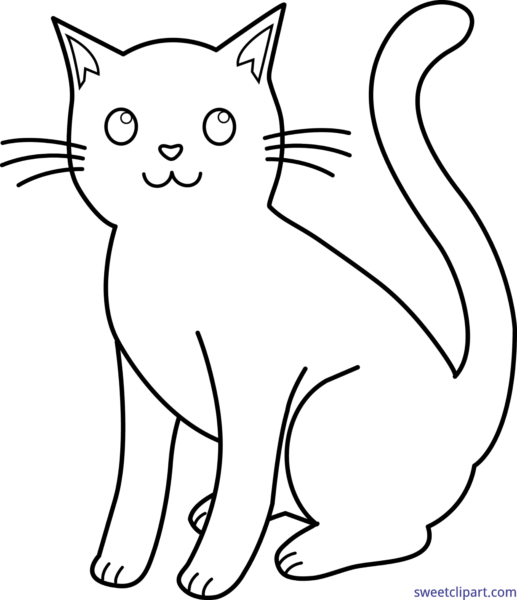 Cat And Kitten Png Black And White & Free Cat And Kitten Black And.