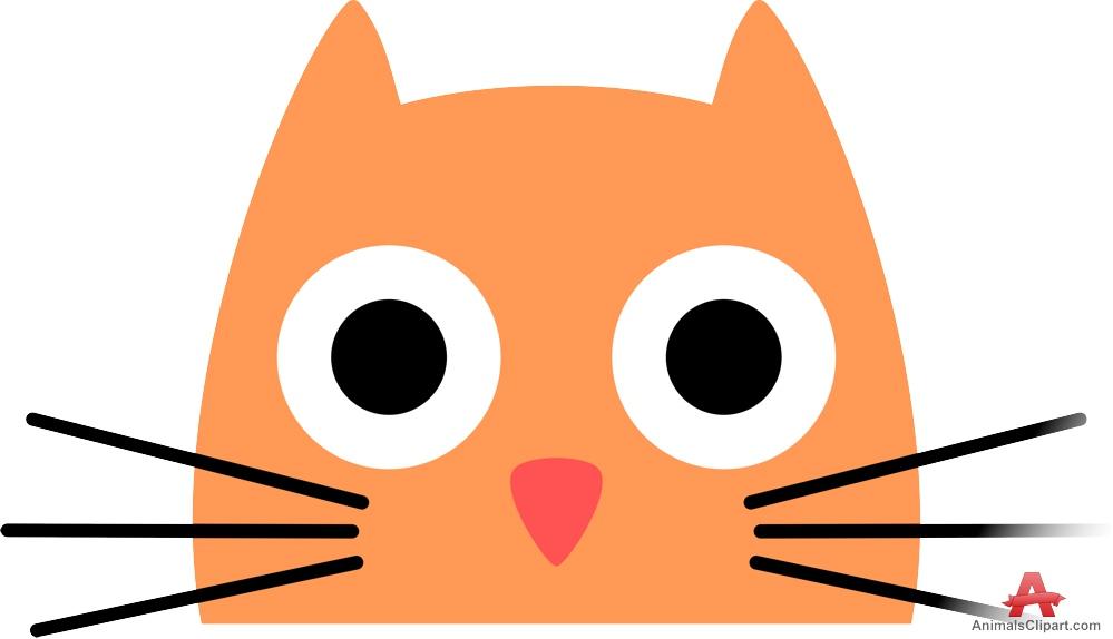 Kitten face clipart 5 » Clipart Station.