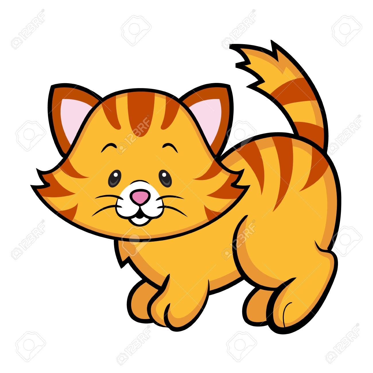 3845 Kitten free clipart.