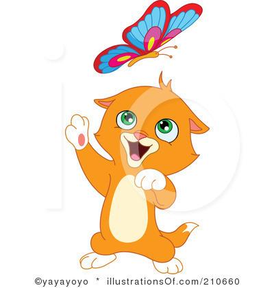 3842 Kitten free clipart.