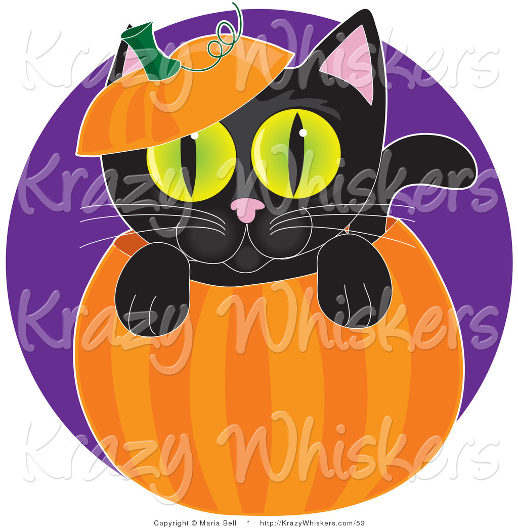 Royalty Free Halloween Pumpkin Stock Animal Designs.