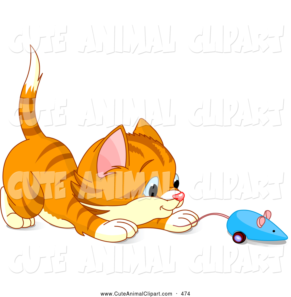 Kitten Playing Clipart.