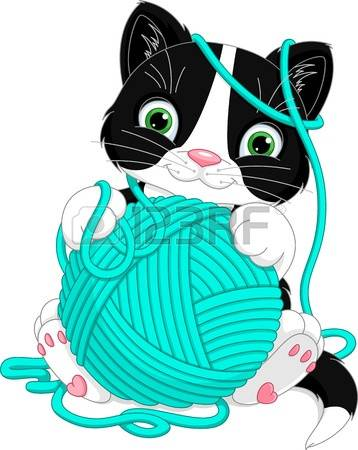 392 Kitten And Yarn Stock Illustrations, Cliparts And Royalty Free.