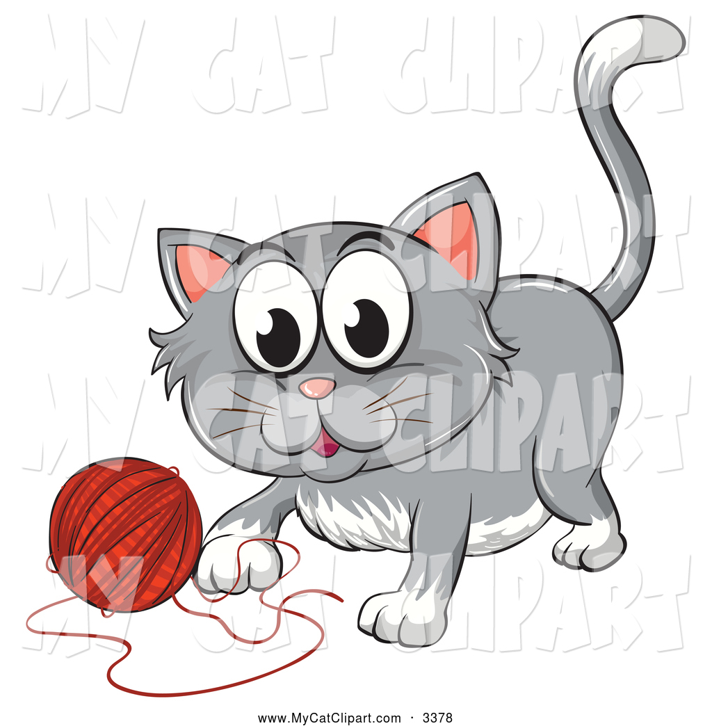 Royalty Free Frisky Stock Cat Designs.