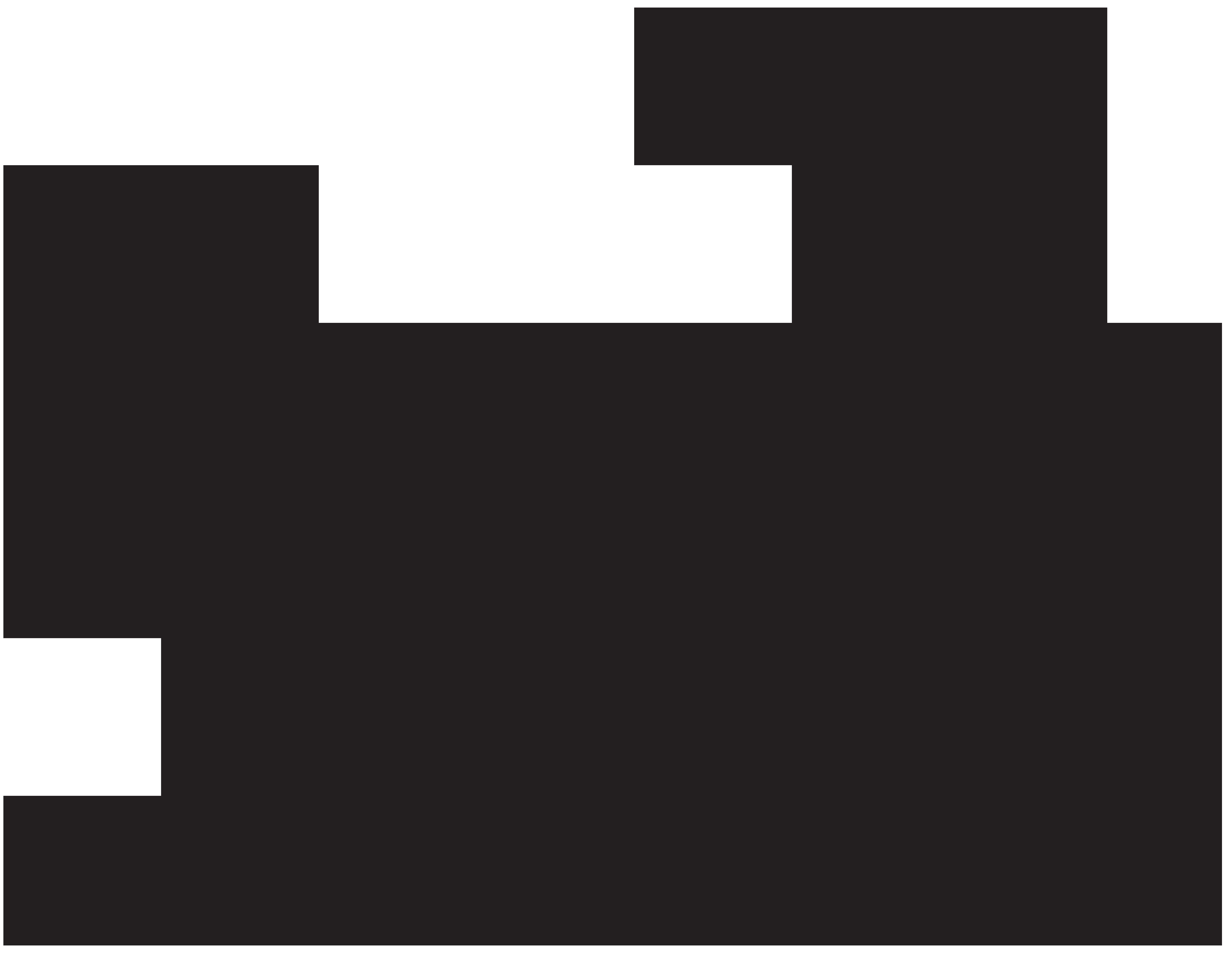 Kitten Silhouette PNG Clip Art Image.