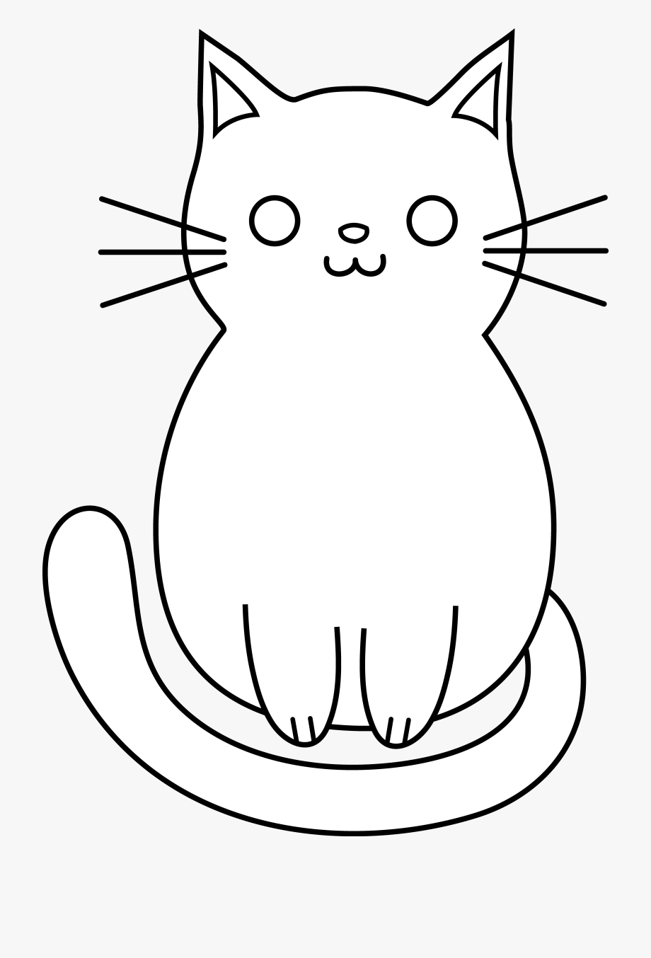 Images For Kittens Clipart Black And White.