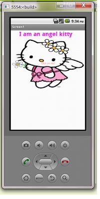♢Hello Kitti App Interface and Barcode.