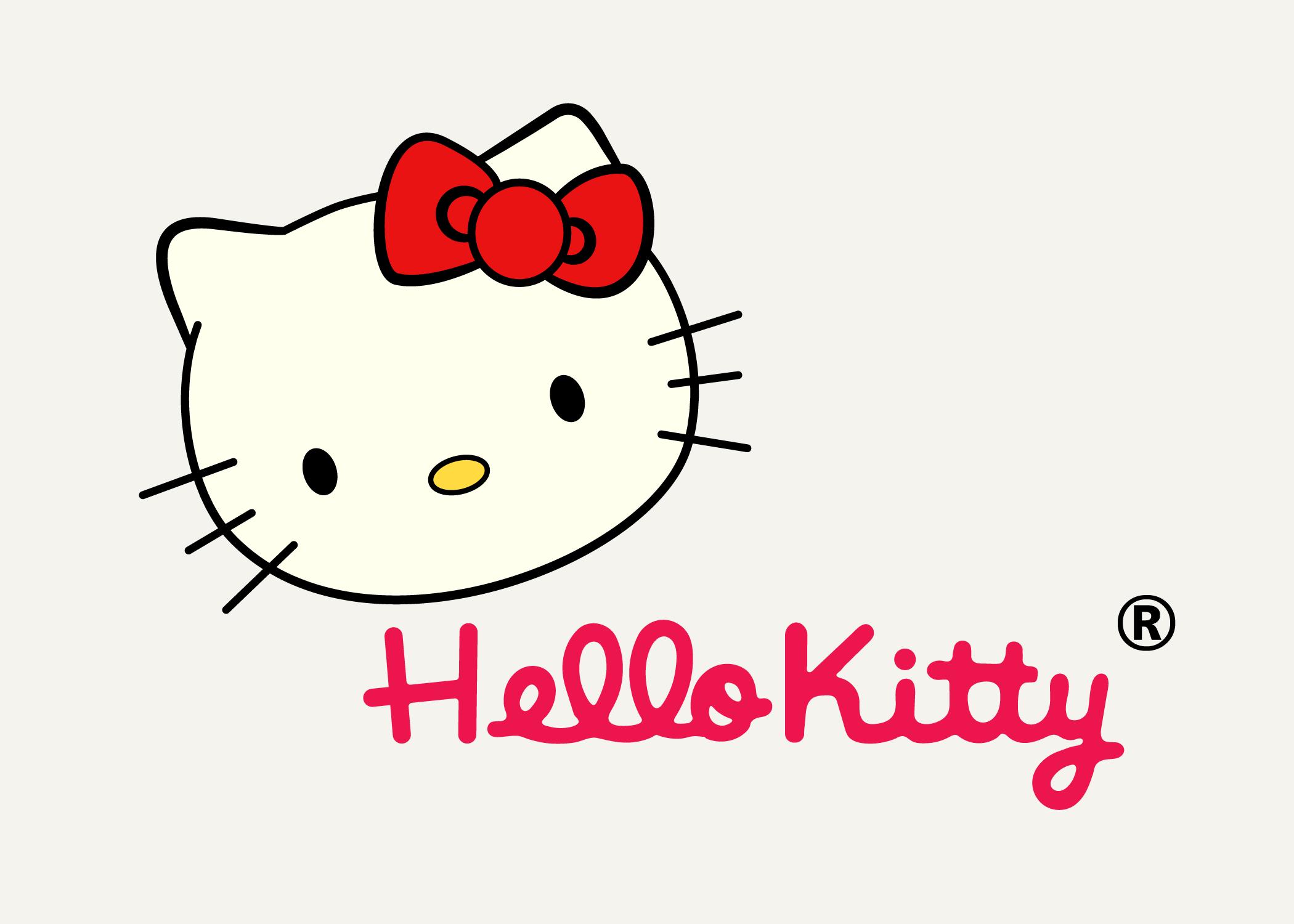 Hello kitty Logos.