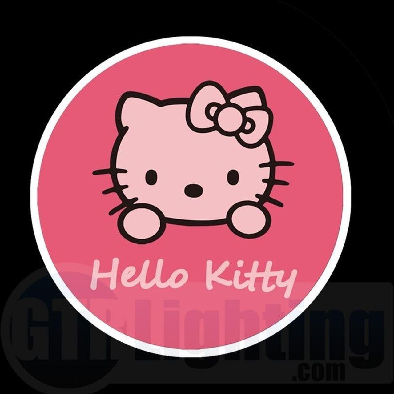 GTR Lighting LED Logo Projectors, Hello Kitty Logo, #48.