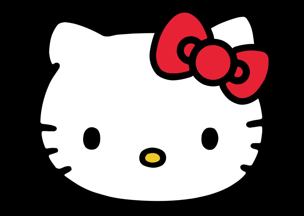 Hello Kitty logo.