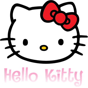 Hello Kitty Logo Vector (.EPS) Free Download.