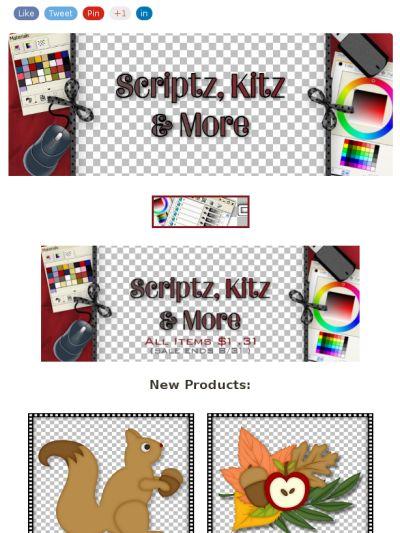 Ad:3 New Autumn Scripts,Autumn Clip Art,4 Travel Scripts,Sale.