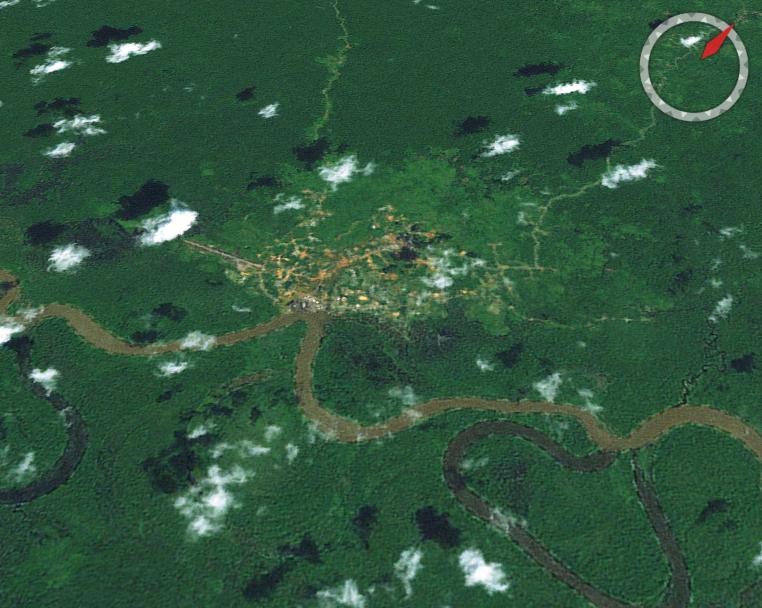 Kiunga, Papua New Guinea.