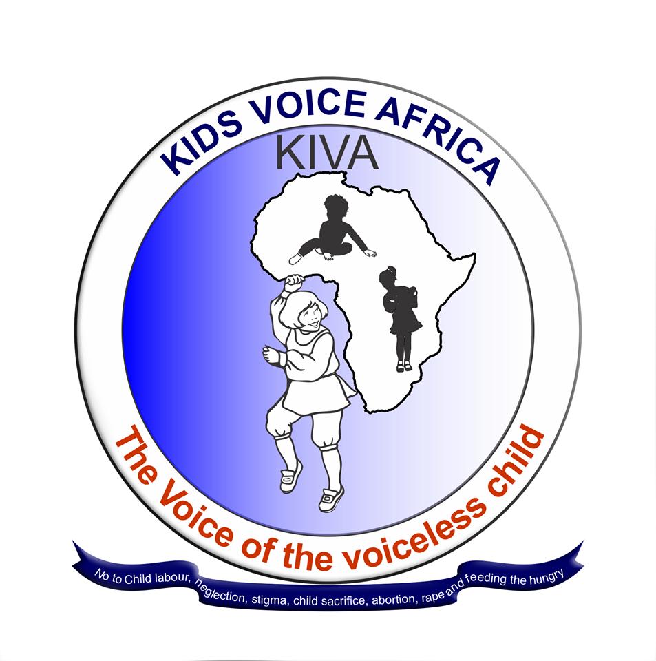 kiva logo · Kids Voice Africa.