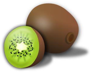 Kiwi Clip Art at Clker.com.