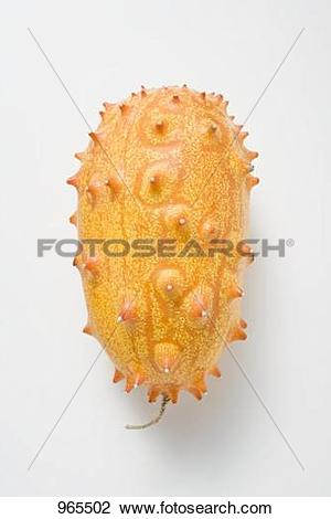 Stock Photo of Kiwano (horned melon) 965502.