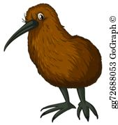 Kiwi Bird Clip Art.
