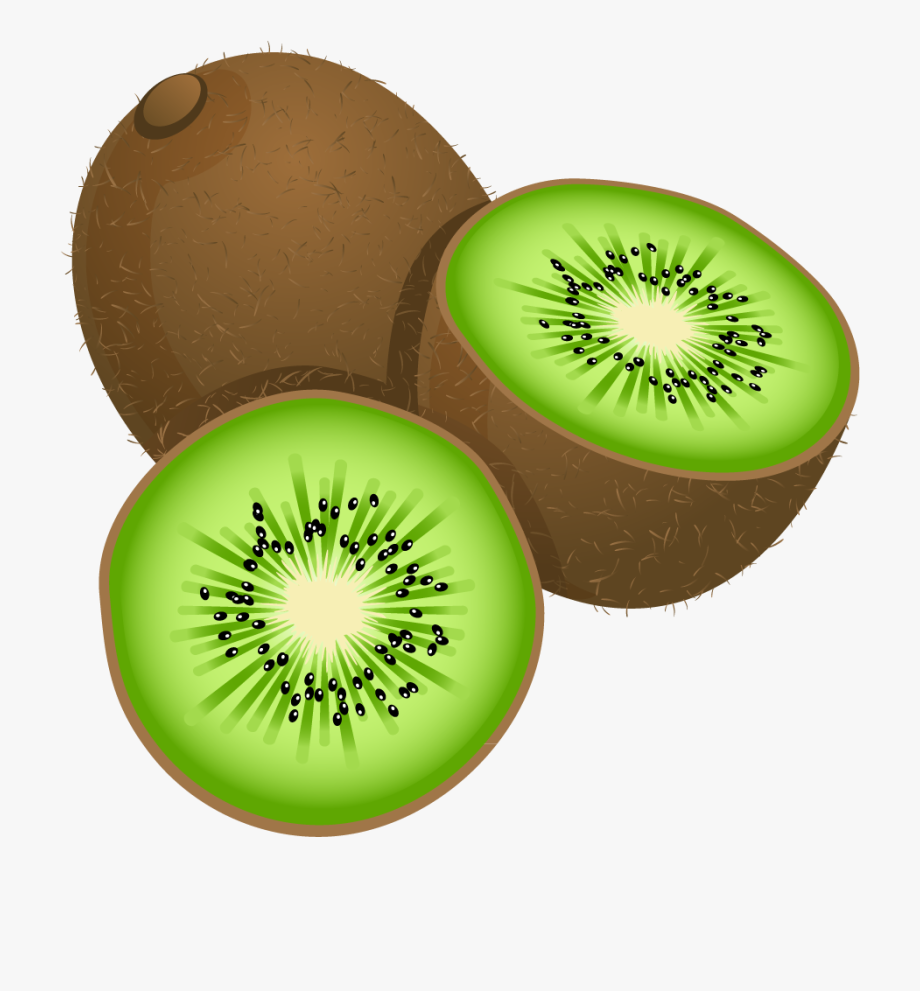 Fruits Clipart Painted.