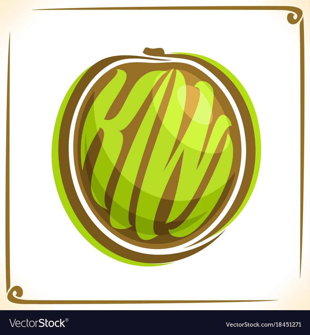 Logo for kiwi fruit.