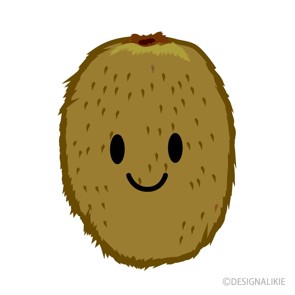 Free Cute Kiwi Clipart Image|Illustoon.
