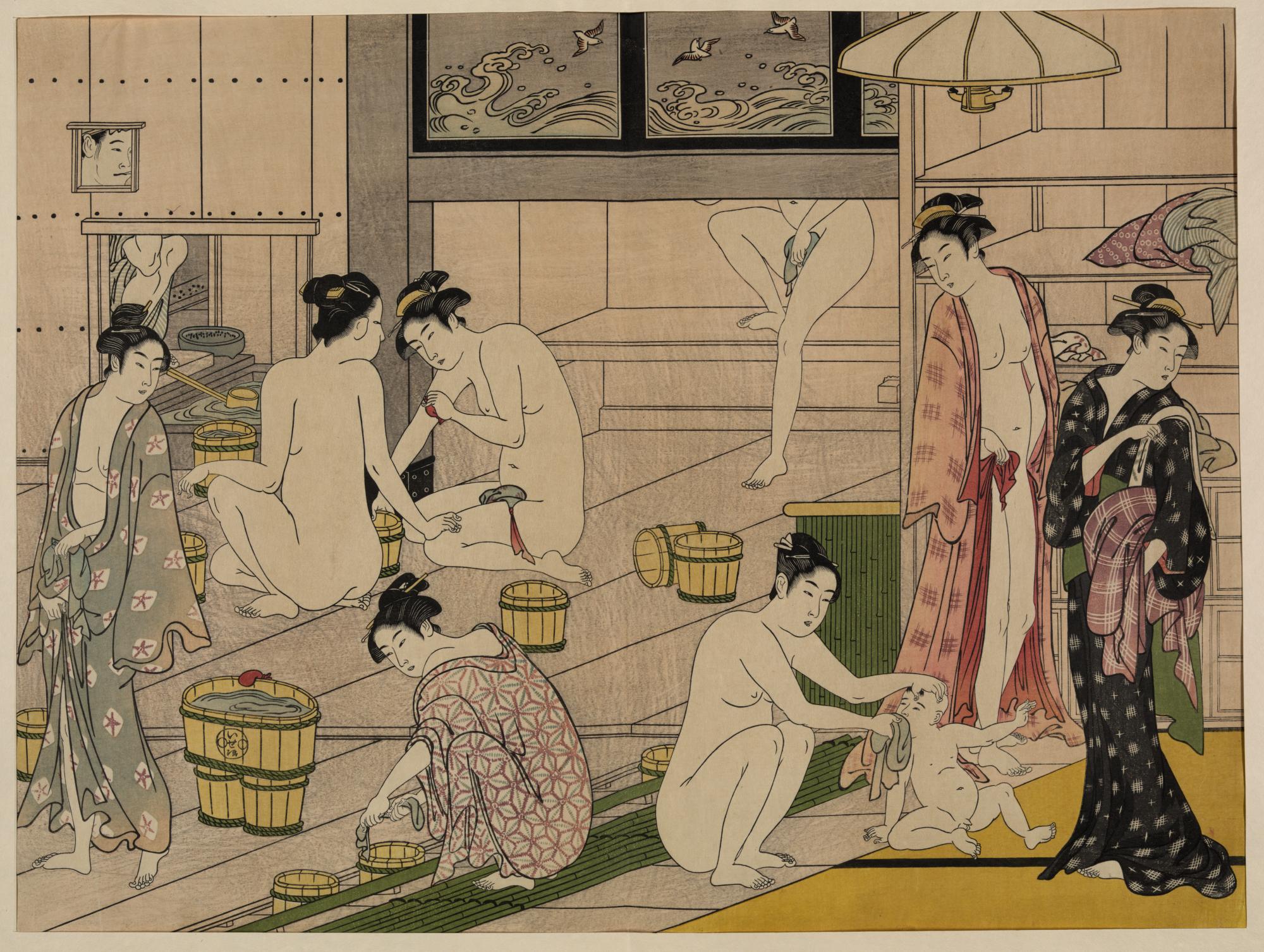 Bathhouse Women Diptych..