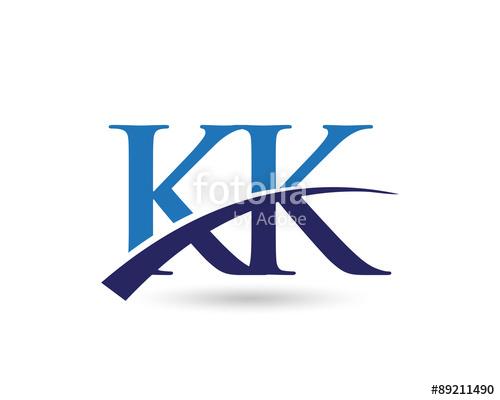 KK Logo Letter Swoosh\